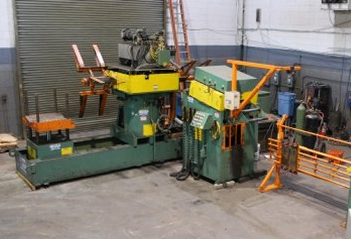 6000 Lbs. DALLAS Double End Reel and Straightener