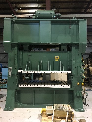 300 Ton MINSTER E2-300-96-48 Straight Side Press