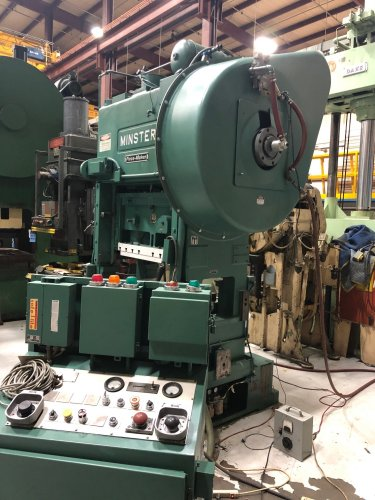 "100 Ton, MINSTER P2-100-48 ""Piece-Maker"" Straight Side High Speed Press"