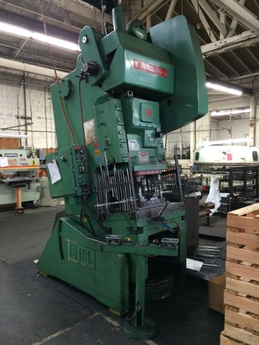 75 Ton BLISS C-75, C-Frame Press