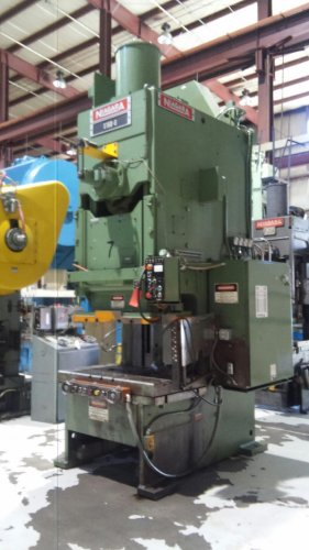150 Ton NIAGARA E-150-S, C-Frame Press