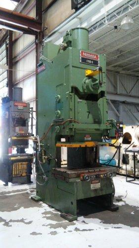 150 Ton NIAGARA E-150-S, C-Frame Press