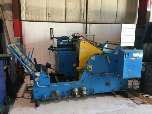 """8000 Lbs ROWE Cradle, 20"""" Max Coil Width, 60"""" max O.D., powered payout"""