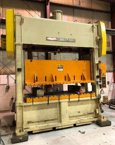 250 Ton Niagara SC2-250-120-60 Straight Side Press
