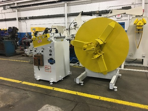 6000 Lbs. COE Coil Reel and Straightener, CPR-PO-6018 & CPPS-225-18,