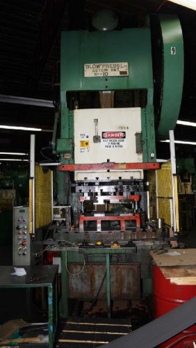 200 Ton BLOW #10 C-Frame Press