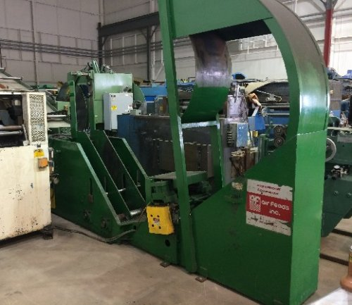 8000 Lbs. AIR FEEDS INC No. CC8018, Coil Cradle