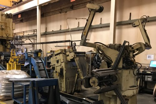 10000 Lbs. MINSTER Servo Coil Feed Line, New 1989
