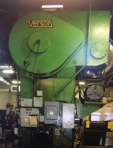 500 Ton VERSON C2-500-84-48t Straight Side Press