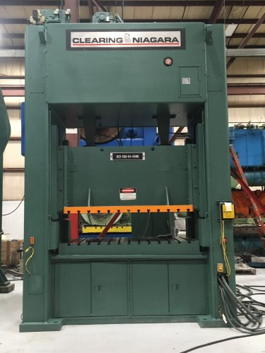 300 Ton CLEARING NIAGARA SE2-300-84-48UH Straight Side Press