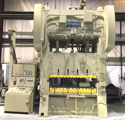 400 Ton Bliss SC2-400-84-48 Straight Side Press