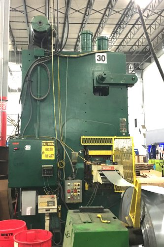 200 Ton Minster G2-200 Double Crank Gap Press