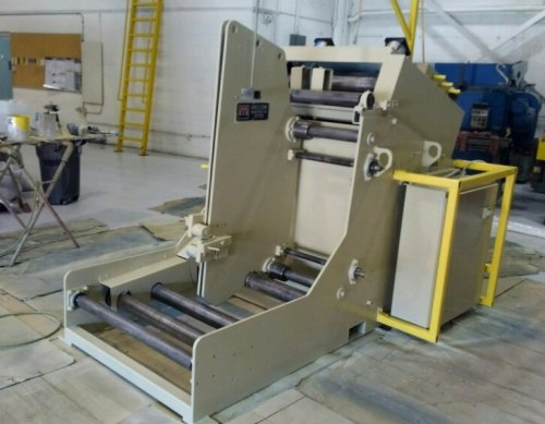 "10000 Lbs. MECON Cradle Straightener #100CCS30, 30"" @ .220"" Capacity"