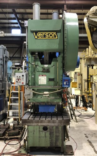 150 Ton Verson #150 OBI Press
