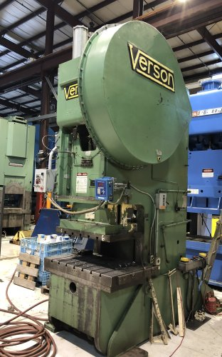 150 Ton Verson #150 OBI Press