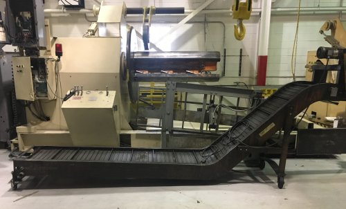 "24"" W. x 15' L., WARDCRAFT, Steel Belt Conveyor."