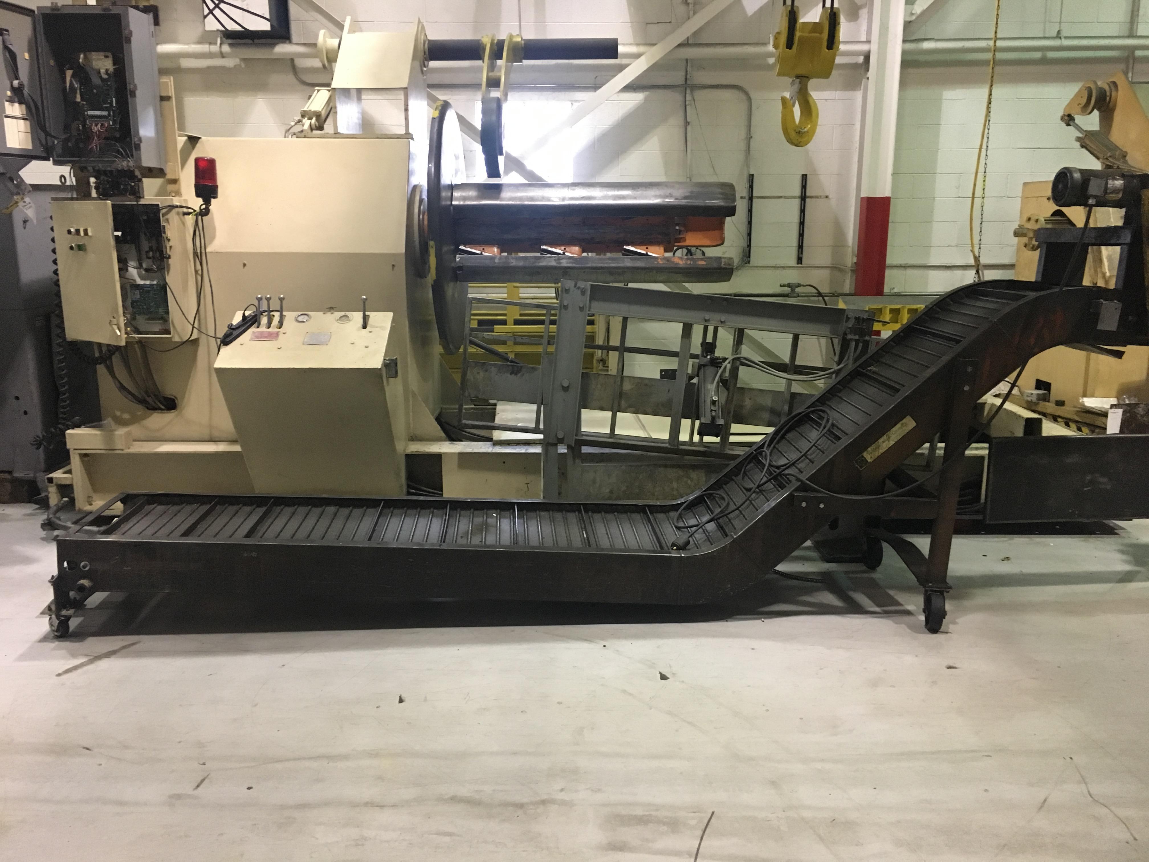 """24"""" W. x 15' L., WARDCRAFT, Steel Belt Conveyor."""