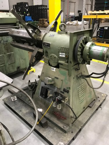 10000 Lbs. Littell No. 90-36 Coil Reel