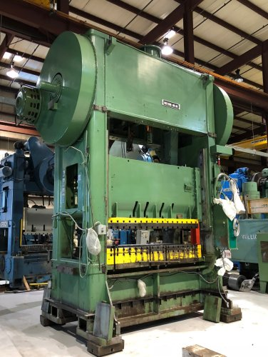 500 Ton NIAGARA SC2-500-108-48 Straight Side Press