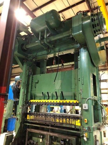 500 Ton NIAGARA SC2-500-108-48 Straight Side Press