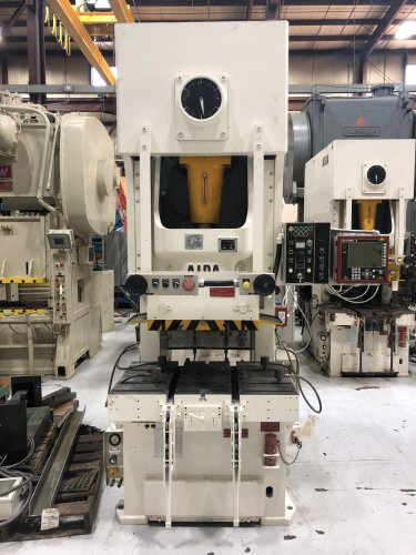 150 Ton AIDA NC1-150(2) Gap Press, New 1998