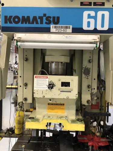 60 Ton KOMATSU Press OBS-60-VS-3, New 1995