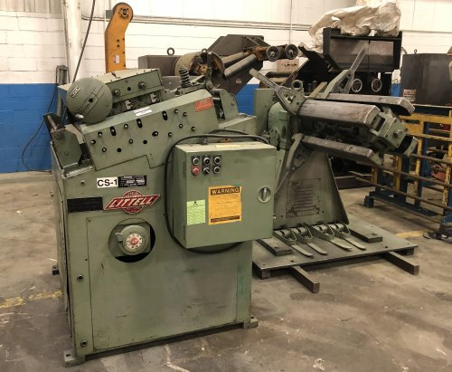 10000 Lbs. LITTELL Coil Reel and Straightener