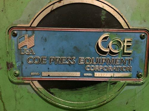 "72"" W. x COE  Model# CPFS - 3.5-72 Servo Feed Straightener"