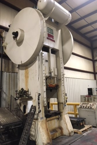 400 Ton BLISS S1-400 Straight Side Single Crank