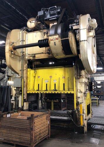 500 Ton BLISS SC2-500-96-54 Straight Side Press