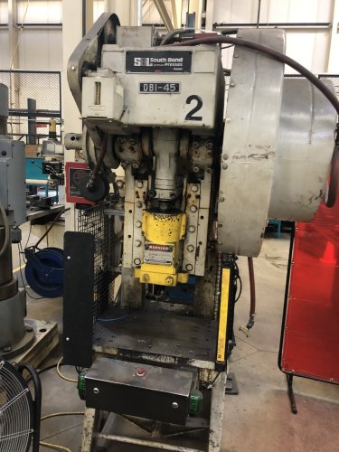 45 Ton SB Johnson 45-FW-AC OBI Press