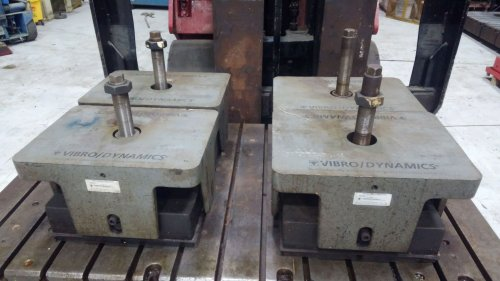 VIBRO DYNAMIC Vibration Isolators, Model #25MXL 1442,