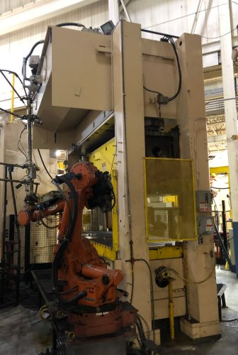 500 Ton PACIFIC Model #500 D 12/60 Hydraulic Press