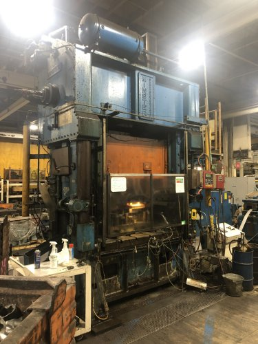 200 Ton MINSTER SC2-200-60-42 Hevi-stamper Straight Side Press