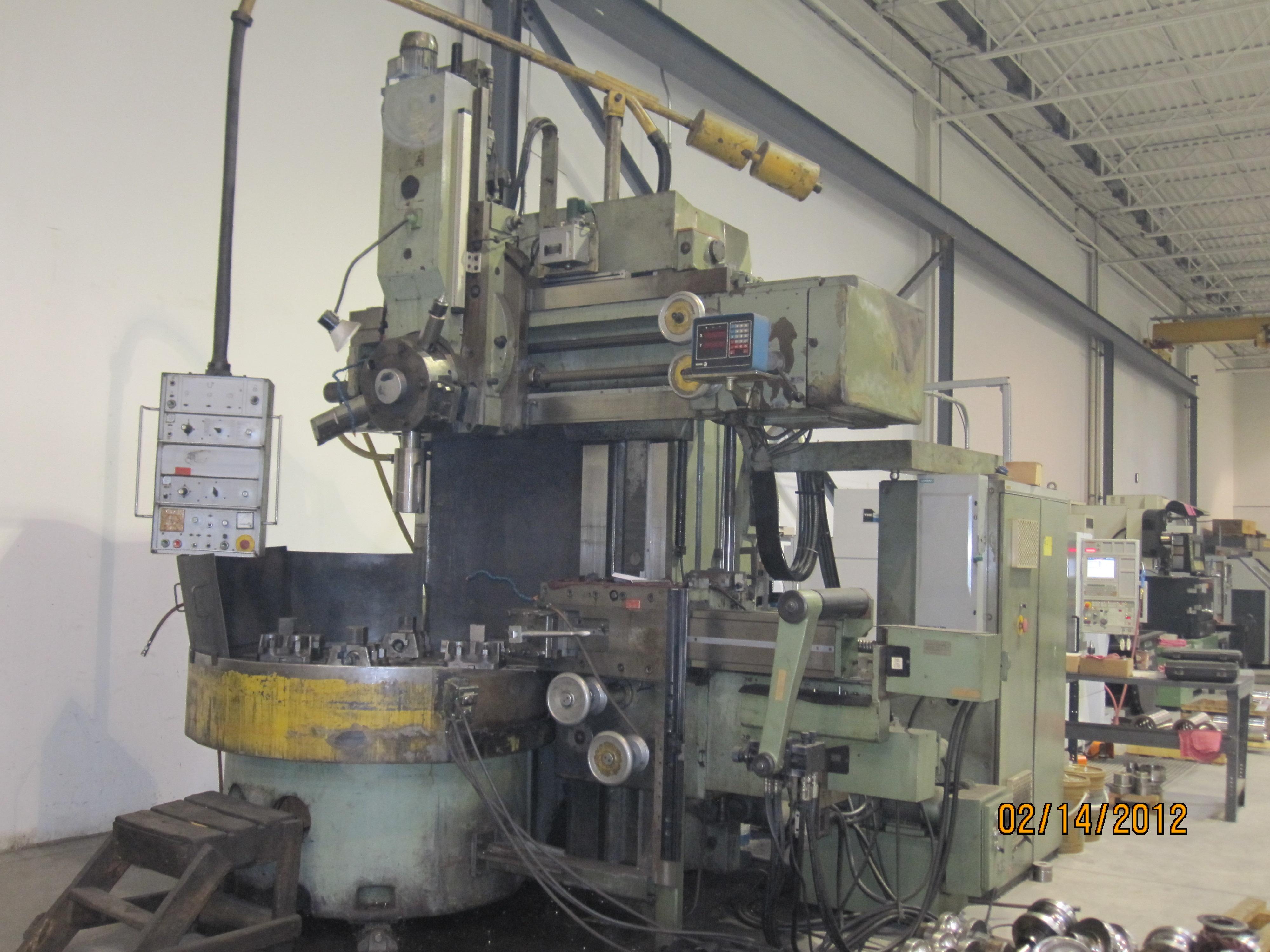 "Stanko Model 1516, 55"" Vertical Boring Mill"
