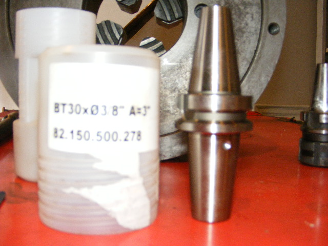 "Diebold BT30-3/8"" Thermo Grip End Mill Holder, #82.150.500.278, NEW"
