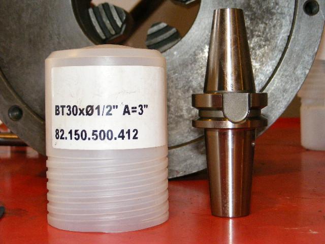 "Diebold BT30-1/2"" Thermo Grip End Mill Holder, #82.150.500.412, NEW"
