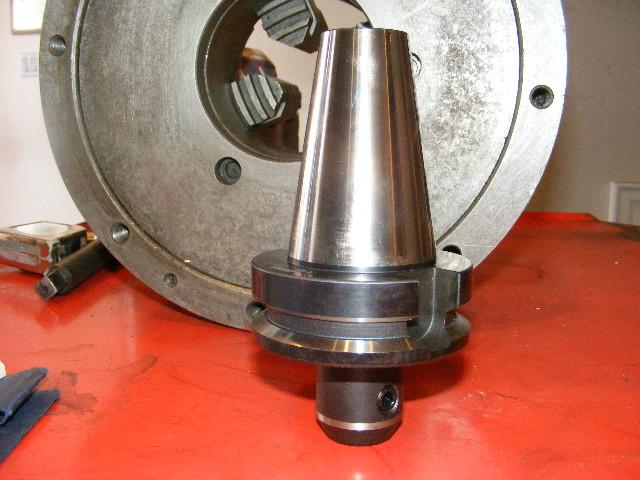 "Narex BT-45, 1/2"" End Mill Holder #BT-45-WE1/2-75, NEW"