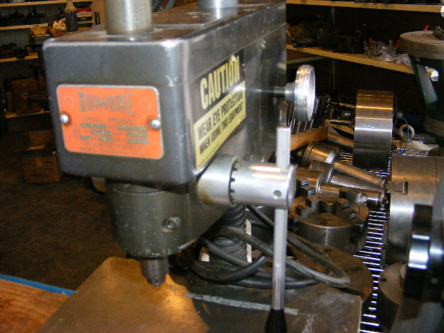 Dumore Model 37-021 High Speed Sensitive Drill Press