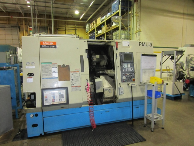 Mazak Super Quadrex 200, SQR-200 4 Axes CNC Turning Centre