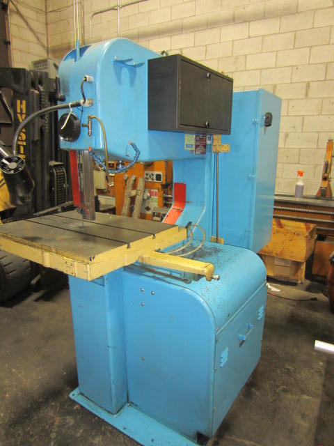 "36"" DoAll Model 3612-2H Vertical Contouring Vertical Bandsaw with Table Feed"