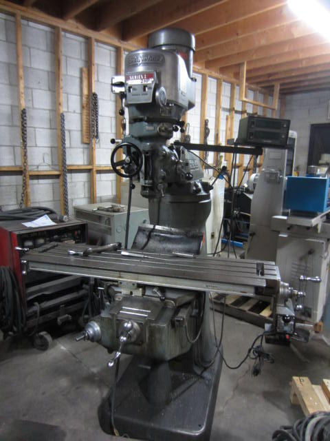 "9"" x 48"" Bridgeport Series 1-2HP Vertical Turret Milling Machine"