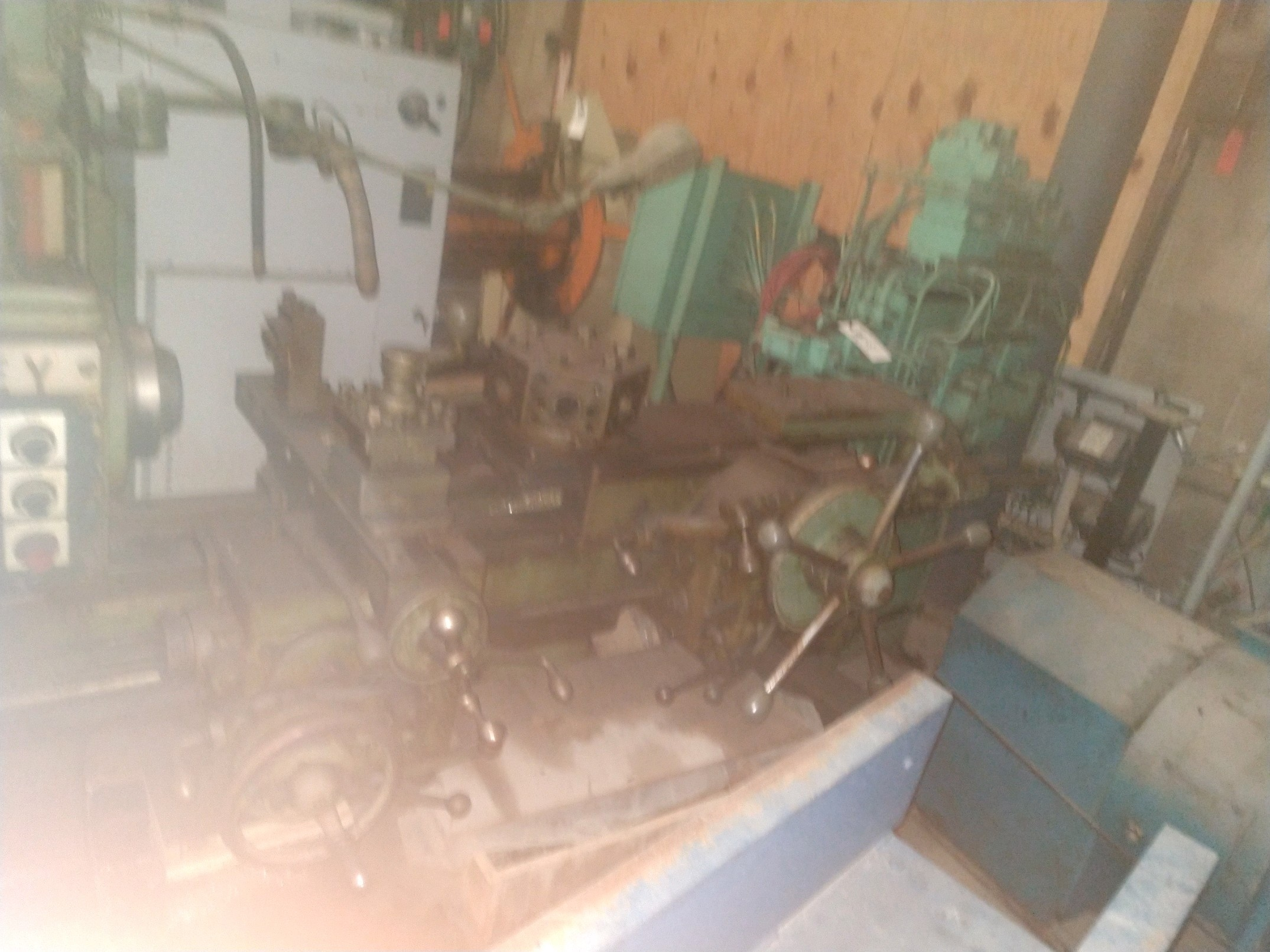 1 PREOWNED WARNER & SWASEY UNIVERSAL TURRET LATHE,<br>MODEL #: #3, S/N: 2171544