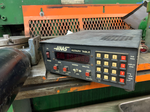 (1) PREOWNED HAAS CNC AUTOMATIC DIGITAL INDEXING HEAD AND <br>CONTROLLER, MODEL #: 8RT, S/N: 52230