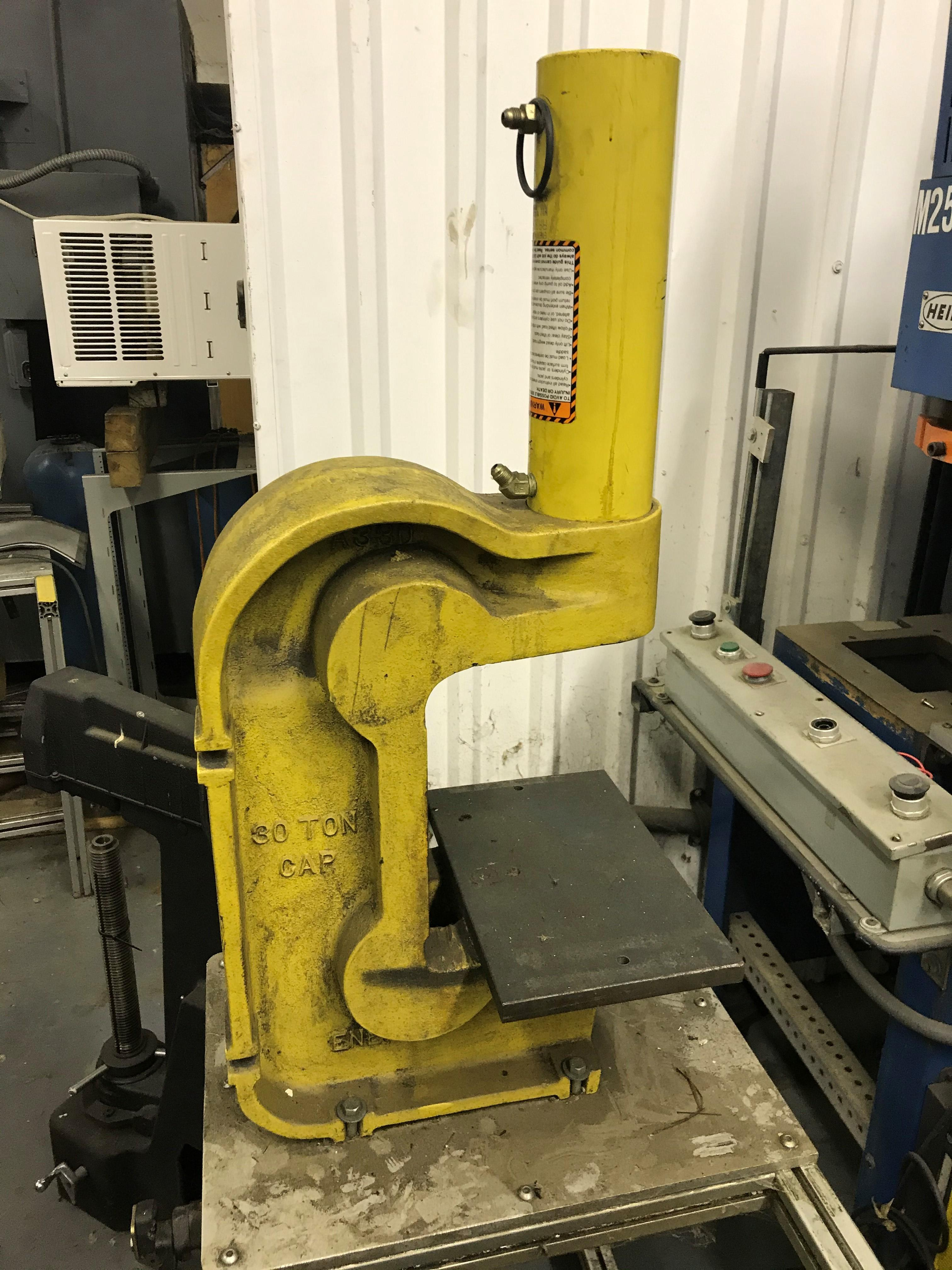 1 PREOWNED ENERPAC 5-STATION PRESS SYSTEM, YEAR: 1999