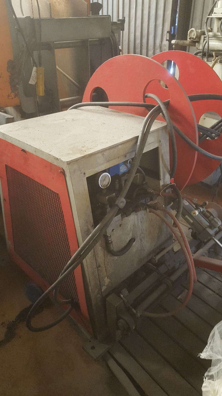 (1) PREOWNED BRADBURY SCRAP WINDER COIL REEL