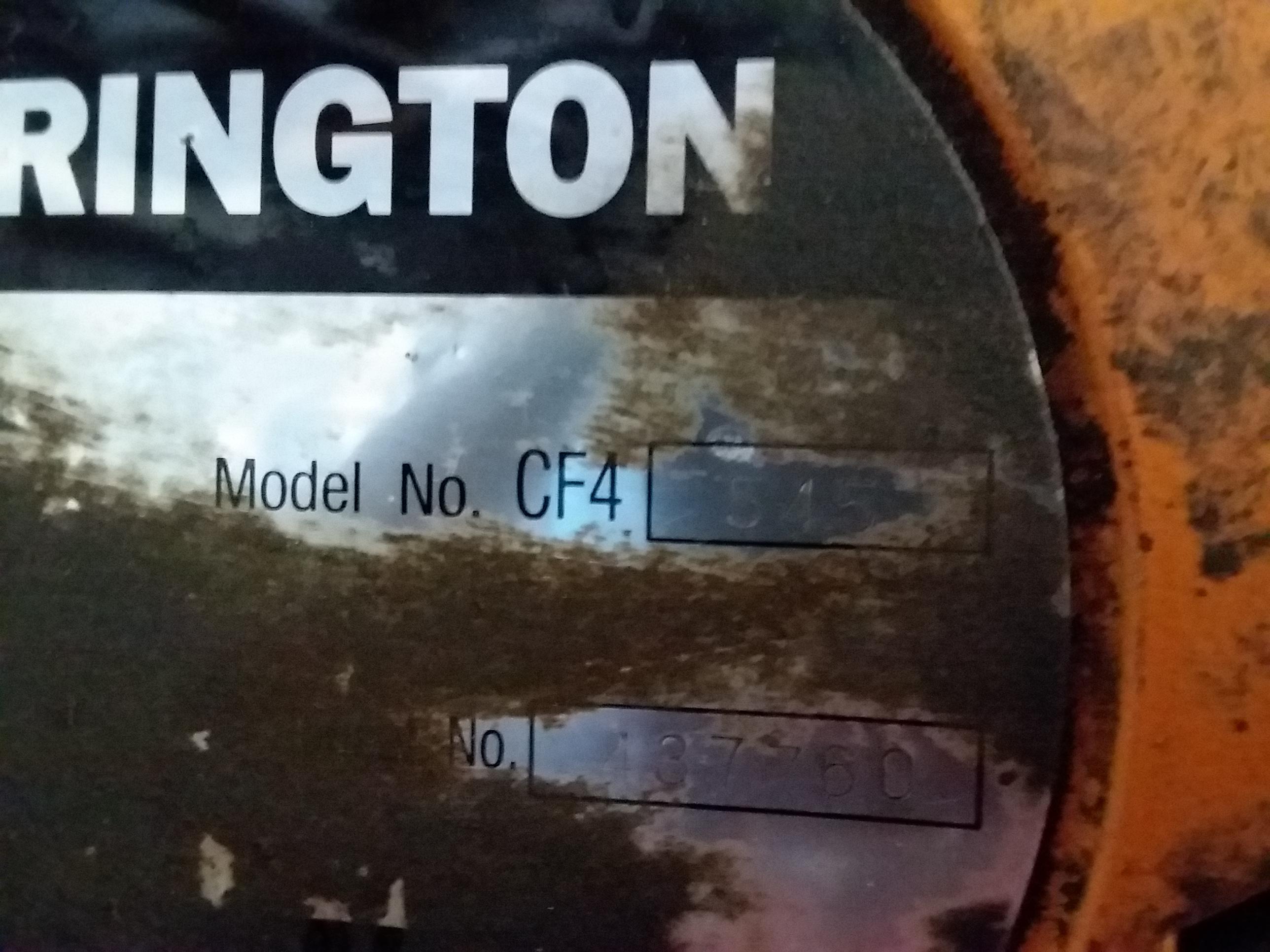(1) PREOWNED HARRINGTON 1 TON CHAIN HOIST, MODEL CF4-545,<br>S/N 437760