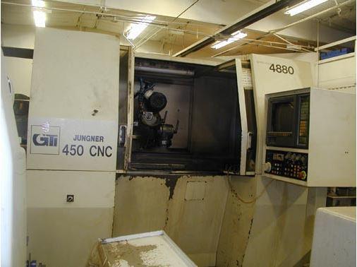 1 - PREOWNED JUNGNER CNC DRILL GRINDER, MODEL #: 450 CNC, <br>S/N: 88-019-02