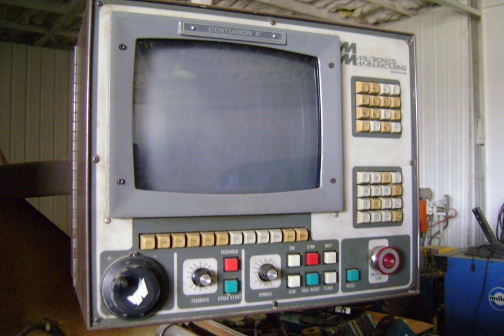 (1) PREOWNED MILLTRONICS PARTNER 1E CNC MILL, NEW IN 1993