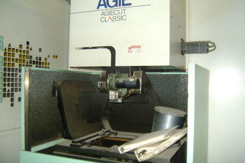 1 - PREOWNED AGIE ELECTRIC DISCHARGE MACHINE,<br>MODEL #: AC CLASSIC 2, S/N: 0421, YEAR: 2001